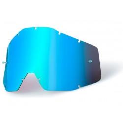 Lenti di ricambio100% Anti Fog Mirror blu