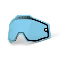 Lenti di ricambio 100% Vented Dual Clear Visor Blu