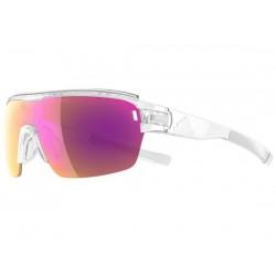 Occhiali Adidas Eyewear Zonyk Aero Pro Vario taglia S trasparente/viola