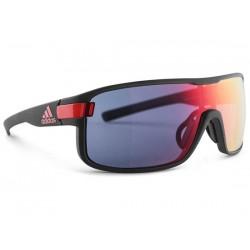 Occhiali Adidas Eyewear Zonyk taglia L nero opaco/rosso
