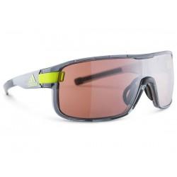 Occhiali Adidas Eyewear Zonyk taglia S grigio trasparente