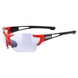 Occhiali Uvex sportstyle 803 race vm rosso/nero