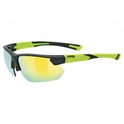 Occhiali Uvex sportstyle 221 nero/giallo