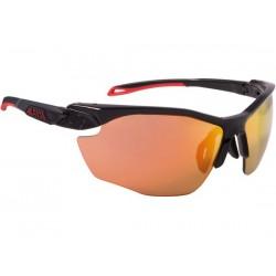 Occhiali Alpina TWIST FIVE HR CM+ nero opaco/rosso taglia unica