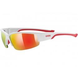 Occhiali Uvex sportstyle 215bianco/rosso taglia unica