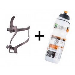 Set Borraccia e portaborraccia Tune Linksträger Carbon750ml
