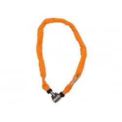 Catena con lucchetto Kryptonite Keeper 465 Combo arancione