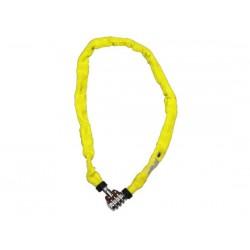 Catena con lucchetto Kryptonite Keeper 465 Combo giallo