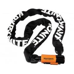 Catena con lucchetto Kryptonite Evolution Series 4 Integrated 1016 arancione/nero/bianco