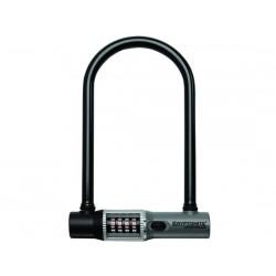 Lucchetto U-Lock Kryptonite KryptoLok Combo STD con supporto