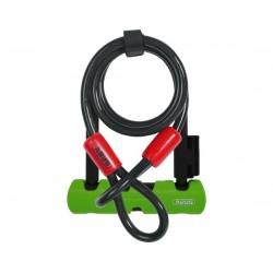 Lucchetto U-Lock Abus Ultra Mini 410 incluso cavo Cobra 180mm