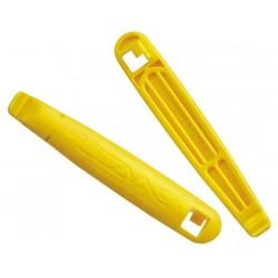 Cacciacopertoni Lezyne Power XL giallo 2 pezzi