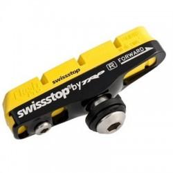 SwissStop, Pastiglie e ricambi pattino, Race Flash Pro FULL pattino completo, Yellow King per cerchi in carbonio, Shimano Standa