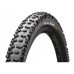 Continental, Coperture, Trail King 2.4, 60-584, 27.5 x 2.4, ProTection Apex, colore nero/nero, pieghevole, Tubeless Ready, Black