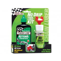 Finish Line kit No Drip Chain Luber incluso olioCross Country 120ml