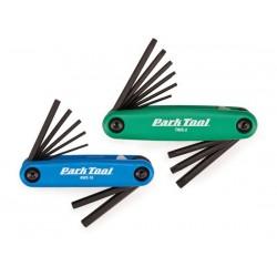 Set di chiavi Park Tool FWS2 blu e verde
