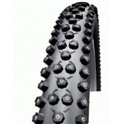 Pneumatico Schwalbe ICE SPIKER PRO 27.5x2.25 TL-Ready SnakeSkin pieghevole Evolution Winter Compound nero