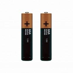 Sigma Sport, Impianto illuminazione, Batterie, Micro, tipo AAA (1,5 V), per luce posteriore Cuberider II, confezione da 2 pezzi,