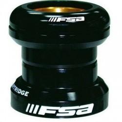 """FSA, Serie sterzo, ORBIT EQUIPE, 1 1/8"""", colore nero cuscinetti sigillati, calotta superiore alluminio 6061/T6, cusicnetto infe"""