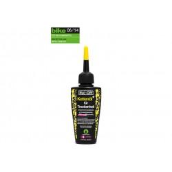 Muc Off, Cura della bici, Dry Lube, bottiglia da 50ml, formula basata su cera, per condizioni asciutte/polverose, contiene PTFE,