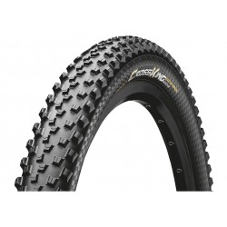 Continental, Coperture, Cross King 2.2, 55-584, 27.5 x 2.2, ProTection, nero/nero Skin pieghevole, Tubeless Ready, BlackChili Co