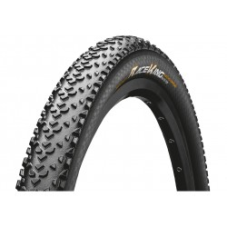 Continental, Coperture, Race King 2.2, 55-584, 27.5 x 2.2, ProTection, nero/nero Skin pieghevole, Tubeless Ready, BlackChili Com