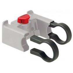 RIXEN & KAUL, KLICKfix, Adattatore per manubrio, fascetta per adattatore manubrio da  31.8mm, confezione da 10 pezzi