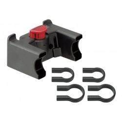RIXEN & KAUL, KLICKfix, Adattatore per manubrio, con due fascette adatto a quasi tutti i tipi di manubrio da 22 a 26mm & 31.8mm,