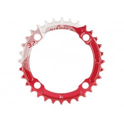 Corona 12 velocità Sixpack Racing K-Ring narrow-wide 34 T rosso