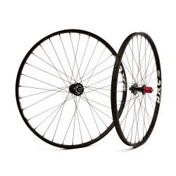 Special Set ruote MTB 29 er DRC Climber XXL Mozzi Novatec  Carobn / Sapim Laser 28 fori