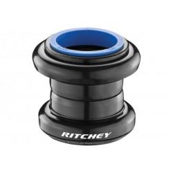 """Ritchey, Serie sterzo, COMP LOGIC 1 1/8"""", 1 1/8"""" Ahead, calotte in alluminio, Stack: 30.2mm, acciaio, colore nero"""