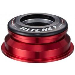 """Ritchey, Serie sterzo, SUPERLOGIC Zero Press Fit, semi integrato, Taper 1 1/8"""" superiore - 1.5"""" inferiore, ZS44/28.7 - ZS55/40,"""