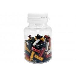 Barbieri, Terminali guaina cambio,per guaine da 4mm, alluminio CNC, diversi colori: nero/bianco/oro/rosso