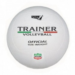 Pallone Volley Sport-One Trainer bianco in gomma