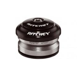 """Ritchey, Serie sterzo, COMP DROP IN black, 1 1/8"""", Ahead Semi integrato, IS42/28.6, calotte in alluminio, colore nero"""