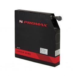 PROMAX, Box cavi cambio, cavo lubrificato in acciaio inox, 2200mm x 1.1mm, confezione da 100 pezzi