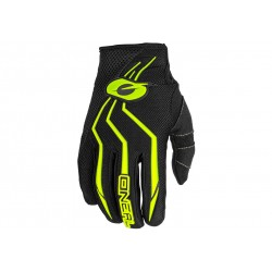 O'Neal, Guanti, ELEMENT Glove, colore: nero/giallo fluo, misura: M/8,5