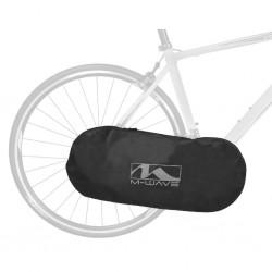 M-WAVE, Trasporto bici, protezione bici, ROTTERDAM PROTECT, protegge la guarnitura/catena/pacco pignoni/cambio durante il traspo