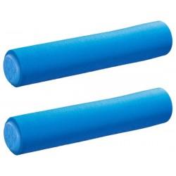 Manopole SUPACAZ Siliconez SL blu neon