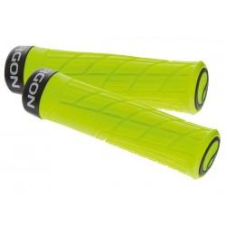Manopole Lock-on Ergon GE1 Evo Slim MTB Enduro giallo