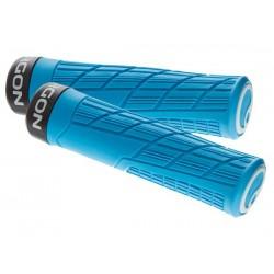 Manopole Lock-on Ergon GE1 Evo Slim MTB Enduro blu