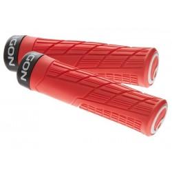 Manopole Lock-on Ergon GE1 Evo Slim MTB Enduro rosso