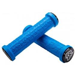 Manopole Lock-on Race Face Grip Grippler 30mm blu