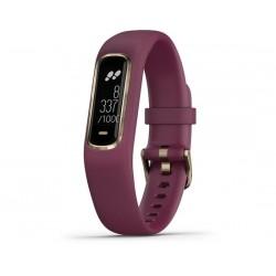 Orologio sportivo Garmin vívosmart® 4 S/M rosso scuro/oro rosa