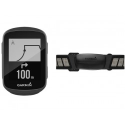 Ciclocomputer senza filo Garmin Edge 130 HR Bundle - GPS