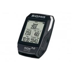 Ciclocomputer senza filo Sigma Sport ROX GPS 7.0 nero/bianco