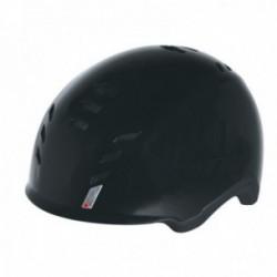 Casco Suomy E-Cube con luce posteriore nero lucido taglia M (54-59cm)