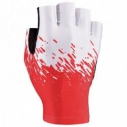 SUPACAZ Guanti SupaG SHORT Bianco/Rosso - Taglia (XL)
