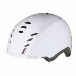 Casco Suomy E-Cube con luce posteriore bianco lucido taglia L (59-61cm)