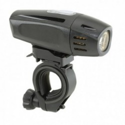 Fanale anteriore MV-TEK IN THE DARK 300Lumen USB nero